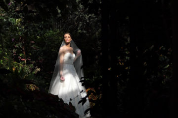 Bride at Longwood Gardens
